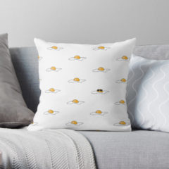 Cool Egg Pillow from Redbubble