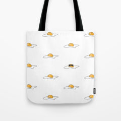 Cool Egg Tote Bag from Society6