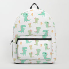 Evolution of a Chicken backpack on Society6