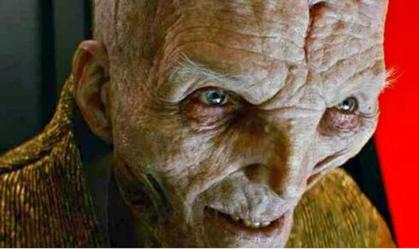 Leader Snoke from Star Wars