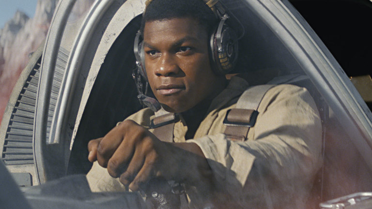 Finn in Star Wars: The Last Jedi