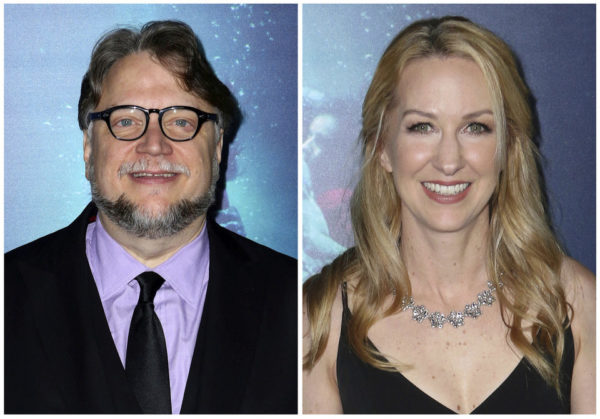 Guillermo del Toro and Vanessa Taylor - Photos by Willy Sanjuan/Invision/AP