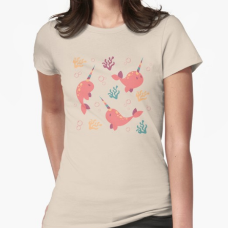 To the Window to the Narwhal shirt from Redbubble