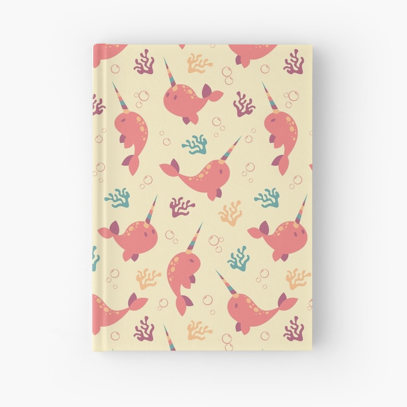 To the Window to the Narwhal journal from Redbubble