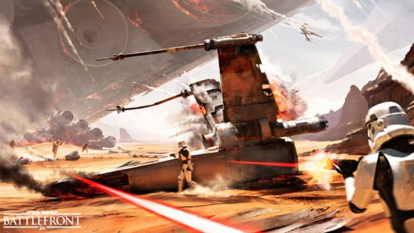 Battle of Jakku in Star Wars Battlefront