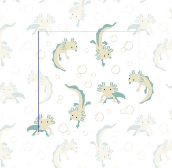 Screen shot of new square tile friendly pattern