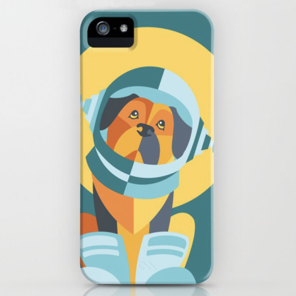 One Giant Leap for All Muttkind iphone case by Society6