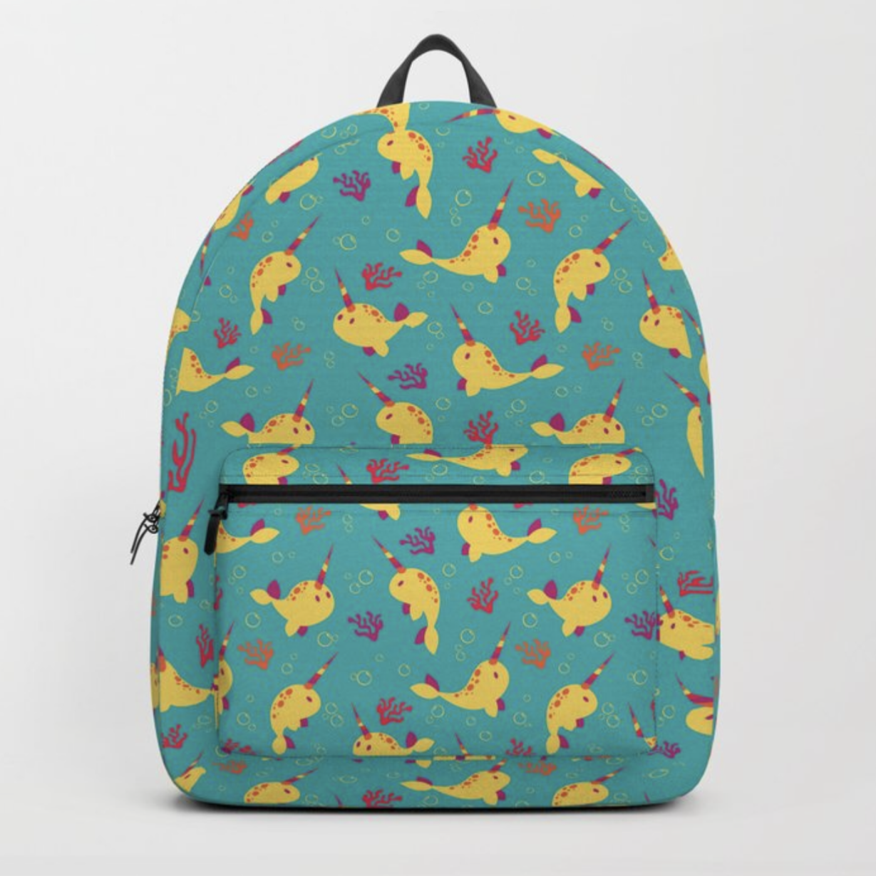 To the Window to the Narwhal backpack from Society6