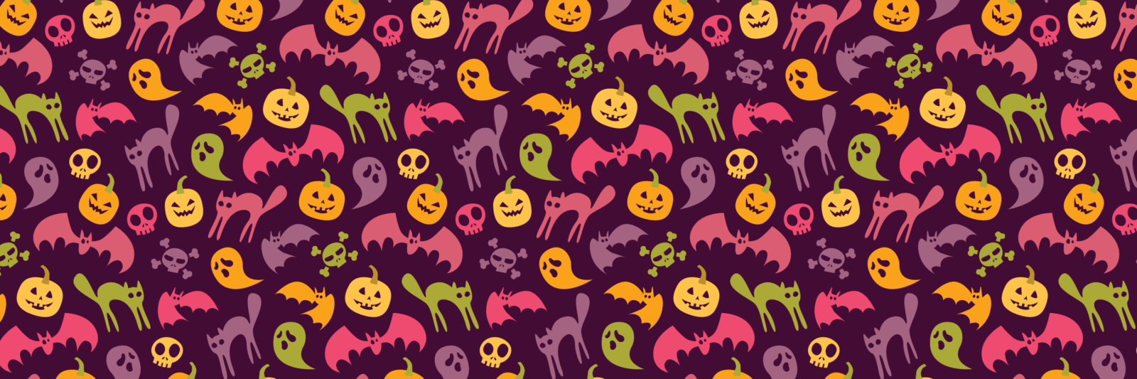 Neon halloween - purple variation