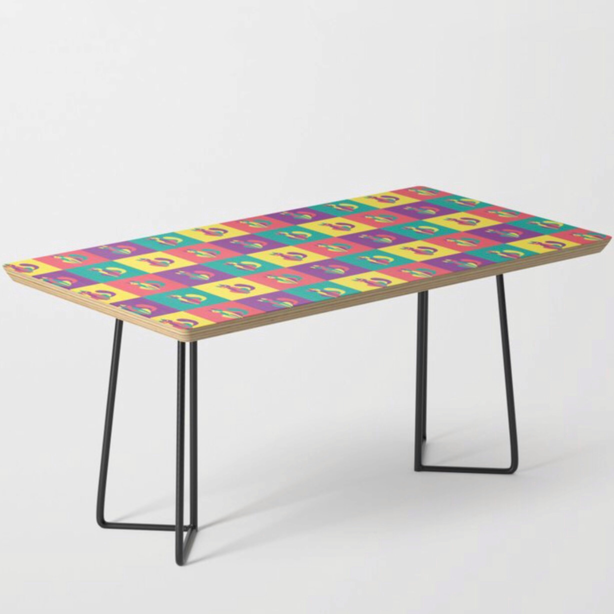 Pop goes the kitten coffee table at Society6